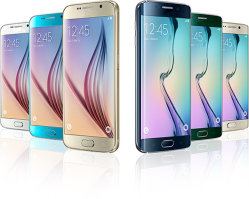 3 ГБ оперативной памяти 32 ГБ ROM Galexy S6 сотового телефона