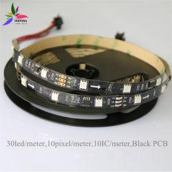 Hohe Helligkeit 4 Chips 12V/24V schwarz/weißes Streifen-Licht Schaltkarte-SMD5050 RGBW LED