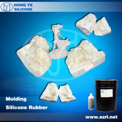 A borracha de silicone para fazer moldes de artesanato de resina