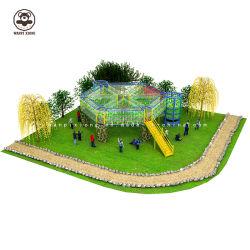 De Speelplaats van kinderen voor de Douane van de Fabrikanten van de Apparatuur van het Spel van de Glijdende en Slingerende van Faciliteiten Grote Nieuwe OpenluchtKinderen van het Park
