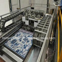 Luxueux Tapis Tapis de laine de la machine