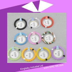 Nouveau design Bracelet Bracelet en silicone de 7mm