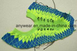 Materiali dei pattini di sport atletici che lavorano a maglia gli accessori superiori dei pattini casuali (37-39)