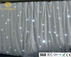 Illuminazione del panno della tenda della stella della decorazione LED del DJ della fase di cerimonia nuziale di DMX
