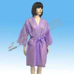 Purpere Kimono of Badjas voor KUUROORD