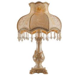 Мода Усовершенствованная Polyresin смолы освещения декоративные настольные лампы