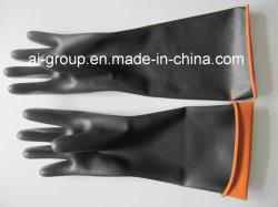 (Látex de borracha natural0 luvas industriais para Protecção Pessoal