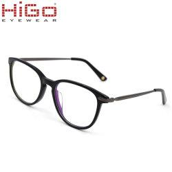 2018 concepteur personnalisé Cadre Noir acétate optique lunettes