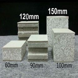 샌드위치 광고판 --EPS 섬유 시멘트 경량 벽면