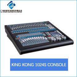 В стадии оборудования для освещения DMX пульт управления освещением с Кинг Конг 1024s лучшая цена