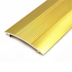 Modanatura Del Riduttore A Pavimento In Alluminio Con Striscia Di Transizione