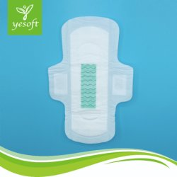 ISO e a SGS certificados 290mm guardanapo sanitário de lingerie descartáveis