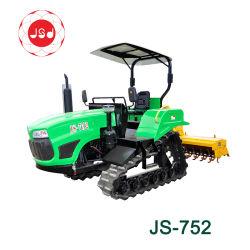 Agricultura Agricultura JS-752 Mini Tractor oruga de la luz del motor Diesel