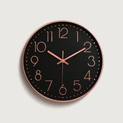 Ringsum die 10 Zoll-Wand/eine Kunst/das Geschenk/die Alarmuhr mit Silikon-Lack für Hauptdekoration