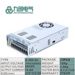 24VDC는 산출 SMPS 350W 엇바꾸기 전력 공급 단위를 골라낸다