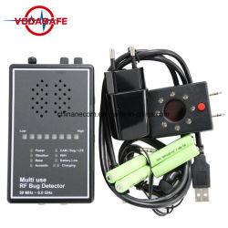 Multi Gebrauch HF-Programmfehler-Detektor mit dem akustischen Bildschirmanzeige-Objektiv-Sucher Superhighly empfindlich drahtlosen Signal-Detektor, der Kameraobjektiv Anti-Spion Einheit freilegt