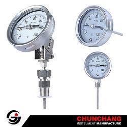 100mm bimetallisches die Temperatur-Anzeigeinstrument wählen