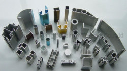 Aluminium/Aluminium-Legierung verdrängten/Strangpresßling-Profile für Windows und Türen/industrielles/Dekoration/Balustrade