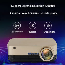 1080P 5000 Lumens WiFi HD digital LCD Multimedias Projetor Laser