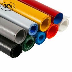 Prodotto rivestito intessuto della tela incatramata del PVC per le coperture del coperchio e della tenda del camion