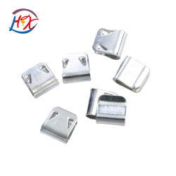 工場価格家具ソファハードウェア亜鉛メッキカラー小型スチールクランプ