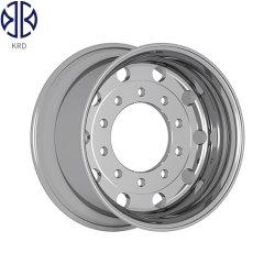 Forjadas de Alumínio polido veículo liga a luz do Barramento Can 22,5X13.00 Aro da Roda
