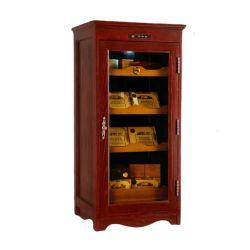 Zigarre-hölzerner Schrank-Zigarre-Luftfeuchtigkeitsregler-Zigarre-Verpackungs-Kasten der spanischen Zeder-180L