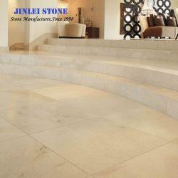 Pulido Natural Spainish Beige losas de mármol Crema Marfil, azulejos, la pavimentación de la Losa