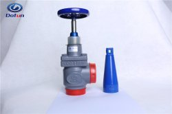 Industrielles Abkühlung-Kaltlagerungs-anschließenammoniak-Freon-Systems-Kolben-Schweißens-Absperrventil-Ammoniak-Ventil