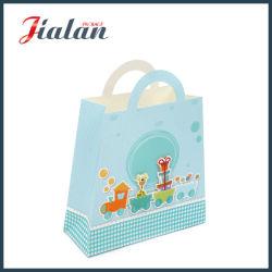 Personnaliser avec poignée Die Cut & 3D des sacs en papier de cadeau pour bébé