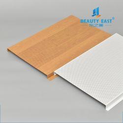 La Chine couleur métallique de la qualité de gros de la perforation de l'aluminium panneau de plafond en métal