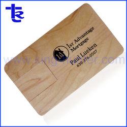 Le bois en vrac à bon marché Business Card lecteur Flash USB USB personnalisé