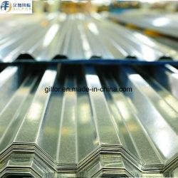 波形を付けられた良質は鉄筋コンクリートのトラスのための鋼鉄床のDeckingシートに電流を通し、
