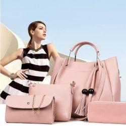 عرض أزياء حبّ يوروبيان تضع المرأة حقائب جلدية حقائب اليد للسيدات حقائب اليد