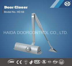 HD 68 Ce aprobada madera de buena calidad con certificación UL el cierre de Puerta Bisagra de puerta