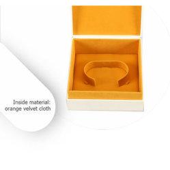 Настраиваемый логотип черного золота серебряных украшений упаковки коробки кольцо браслет цепочка подвесной набор ювелирных изделий