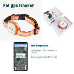 Mini GPS rastreador para animais de estimação Piscina Dispositivo de rastreamento para Cat Dog