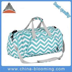 方法波パターン大きい容量ポリエステル旅行ダッフルバッグ