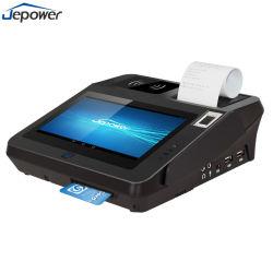 Jp762NFC WiFi impresora térmica del sistema Android Terminal POS