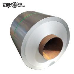 L'acier Zebra DX51D Z40 Z60 Z100 Z180 Z275 Bande galvanisé, tôle galvanisée en rouleaux, de la qualité Gi bobines en acier