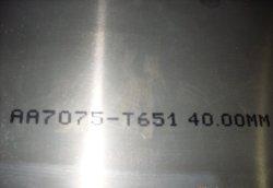 Hohe Duktilität-Aluminiumblatt 7050 für Aerosapce