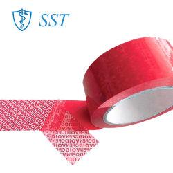 Adhésif acrylique Pet bande adhésive de sécurité pour l'emballage