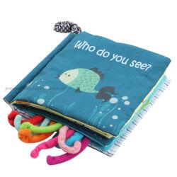 새로운 도착 Multi-Language 일찌기 교육 아이 장난감 아기 직물 의상 책