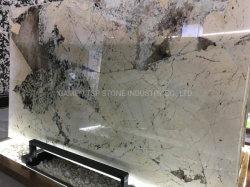 Marmorsteinweißes/Schwarzes/Beige/Grau/Travertin-/Granit-/Marmorfliese-Platte für Projekt-Bodenbelag