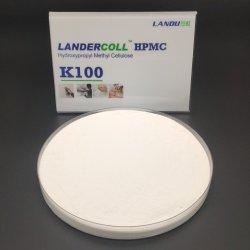 도기 타일 건축 급료 첨가물 HPMC를 위한 접착제 주둥이로 파헤침