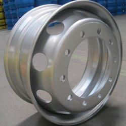 فولاذ عجلة بدون أنبوبة [22.5إكس9.00] [22.5إكس8.25] [22.5إكس7.50] [22.5إكس11.75] [22.5إكس13]