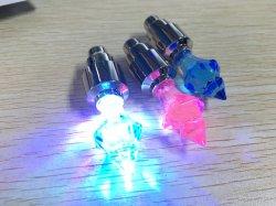 O material de liga de alta qualidade LED luzes de pneus de bicicletas aluguer de válvulas de roda Cup Light