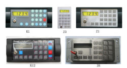 Teclado simple para el controlador electrónico