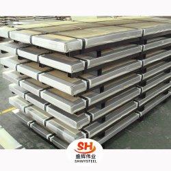 Ss 2b/Ba terminar de material de construção de Chapa de Aço Inoxidável/polimento do espelho (B409, 410S)