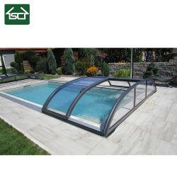 Корея проект Premium Бассейн в форме квадрата сдвижной крышкой
